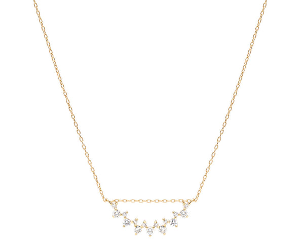 Everett Fine Jewelry Celine Staggered Diamond Pendant