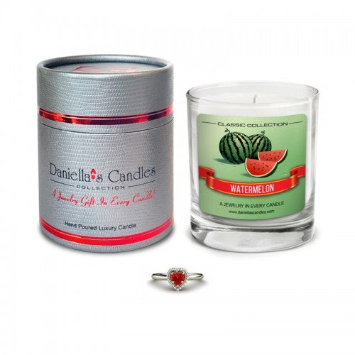 Watermelon Jewelry Aphrodisiac Candle
