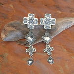 Santa Fe Mesilla Galisteo Taos Sterling Silver Earrings