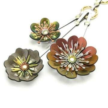 Flower Purse Charm - Large - Mohop