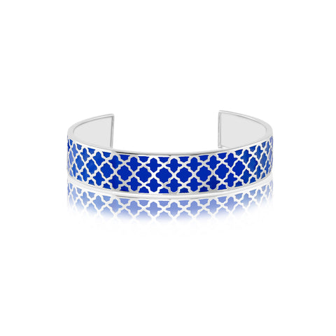Shop for Deep Blue Sea Enamel Bangle on Talisman World Online At Best Price. Unique collection of Sterling Silver Bangles Online Only At Talisman World. Free Shipping & COD Available.