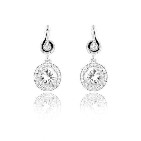 Field of Fortune Drop Earrings at Talisman World. Find a wide range of silver earrings online, Field of Fortune Drop Earrings, sterling silver earrings, silver earring studs, pure silver earrings, fashion earrings online, silver earrings for girls, sterling silver earrings, pure silver earrings online India at Talisman World