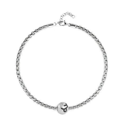 "Buy Zodiac ""Capricorn"" Charm Bracelet at Talisman World. Find an Exclusive collection of charm bracelet online India, Charms For Bracelets, bracelets for women's silver, charms for bracelets silver available."