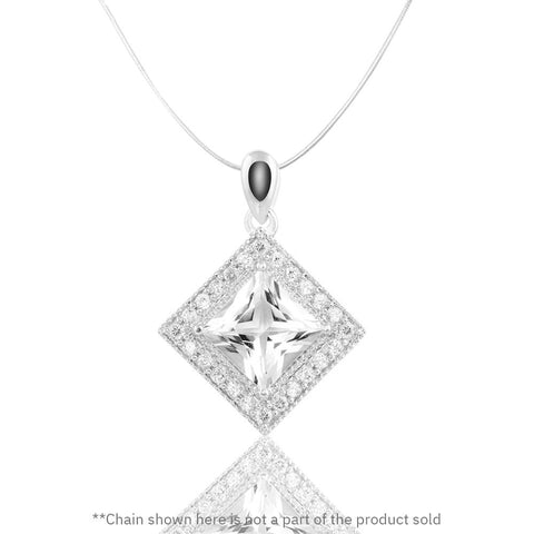 Buy from our White Topaz collection, Evergreen Love Pendant at Talisman World. Find a wide range of Silver Pendants for Women at Talisman World