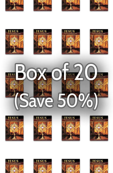 Jesus, Our Eucharistic Love 50% bulk discount