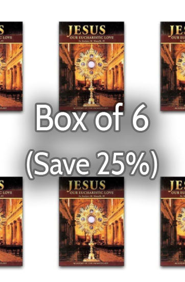 Jesus, Our Eucharistic Love 25% bulk discount