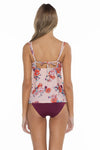 Antoinette Shirley Scoop Neck Tankini Top back