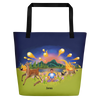 The Autumn Wind - All-Over Print Beach Bag - Tote Bag