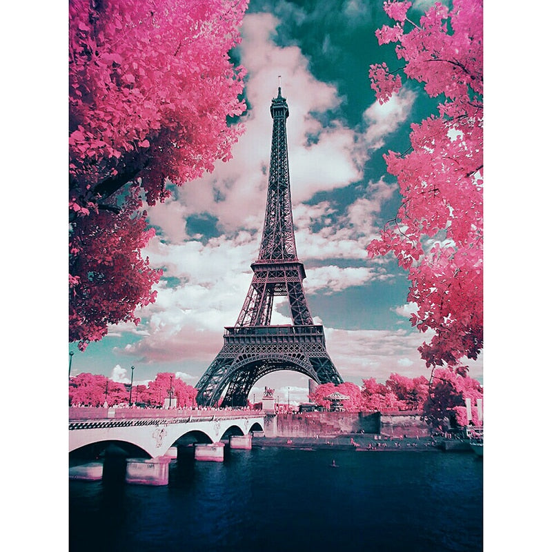 Eiffel Tower - Diamond Paint Kit