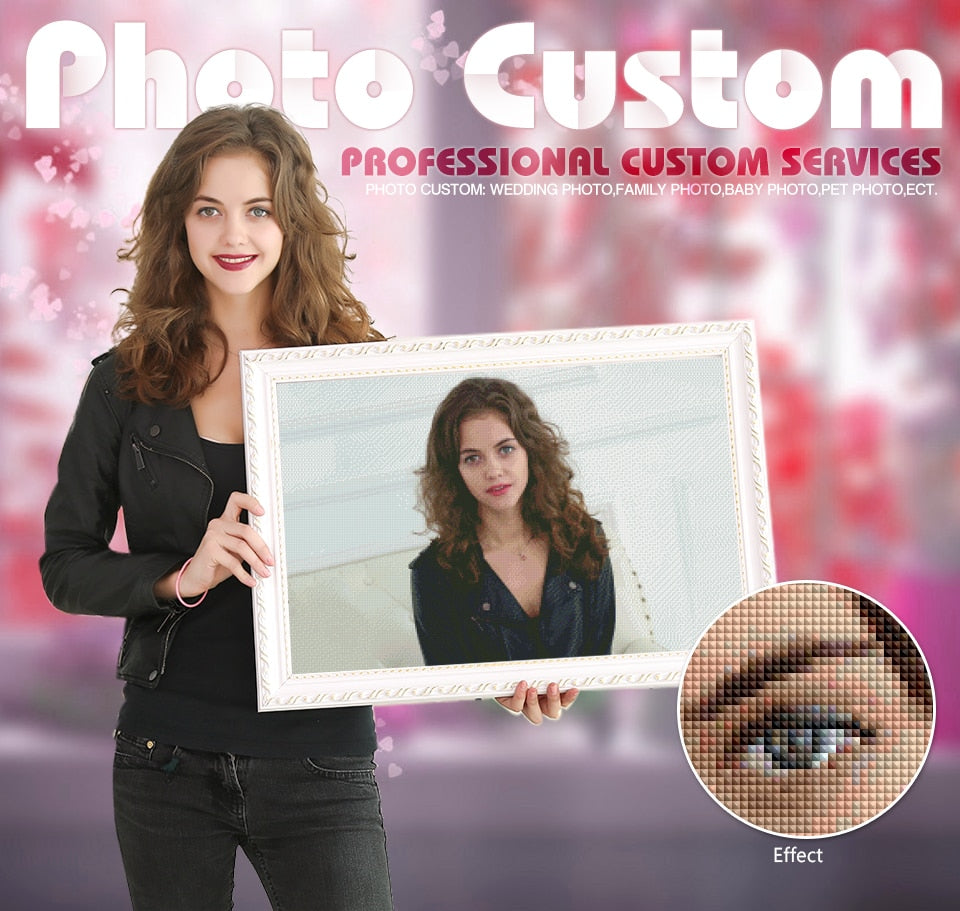 Custom Photo - Diamond Paint Kit