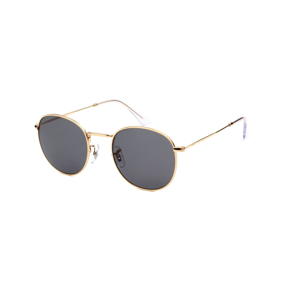 Monte Carlo Gold - Angle View - Grey lens - Mawu sunglasses