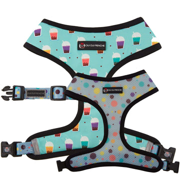 Oui Oui Frenchie Reversible Harnesses Oui Oui Frenchie Reversible Harness - Boba