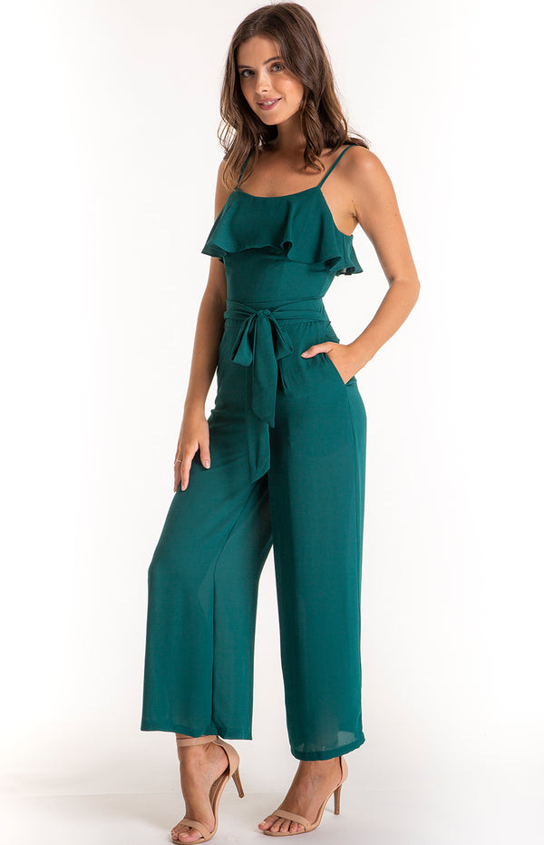 Rima Jumpsuit Emerald Green