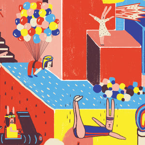 Ilustracion Try to Fly - Galeria Babel