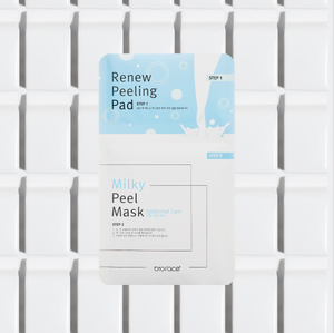 Milky Face Mask - Milky soft skin with Biorace Face Sheet Mask