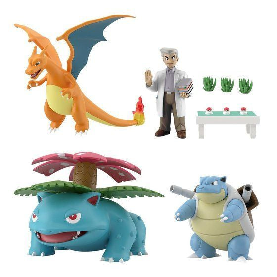 PREORDER Pokemon Scale World Kanto Professor Oak Set (Exclusive)