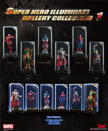 PREORDER Marvel Super Hero Illuminate Gallery Collection 1 (Set of 6)