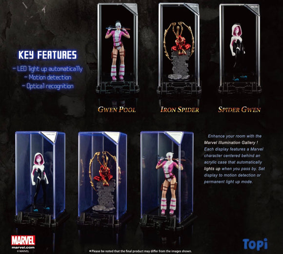 PREORDER Marvel Super Hero Illuminate Gallery Collection 2 (Set of 3)