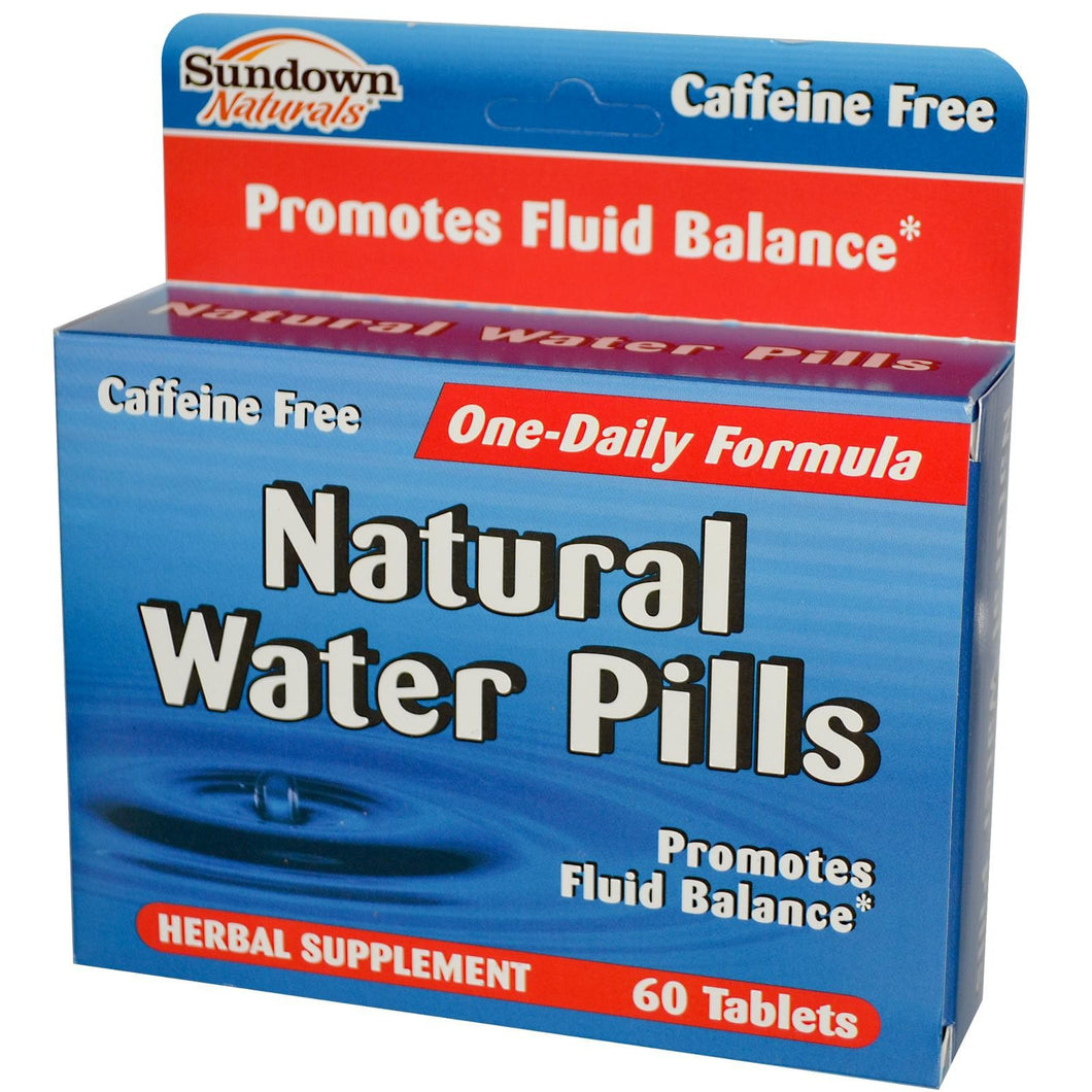 Rexall Sundown Naturals Natural Water Pills 60 Tablets