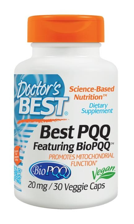 Doctor's Best PQQ Featuring Bio PQQ 20mg 30 Veggie Caps