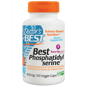 Doctor's Best Phosphatidylserine 100mg 120 Vcaps - Dietary Supplement