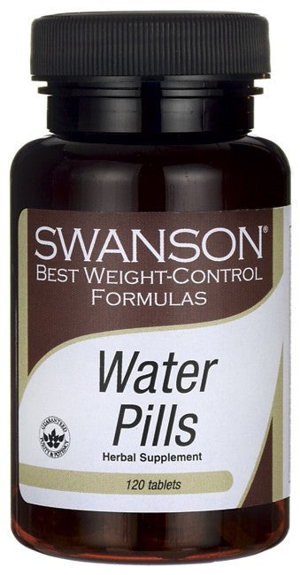 Swanson Best Weight-Control Formulas Water Pills 120 Tablets