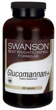 Load image into Gallery viewer, Swanson Best Weight-Control Formulas Glucomannan + 300 Capsules