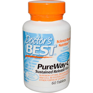 Doctor's Best PureWay Sustained Release Vitamin C 60 Tablets