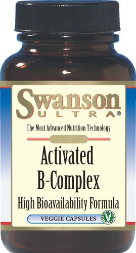 Swanson Ultra Activated B-Complex High Bioavailability 60 Veg Caps