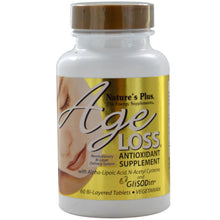 Load image into Gallery viewer, Nature's Plus, AgeLoss, Antioxidant Supplement, 60 Bi-Layered Tablets