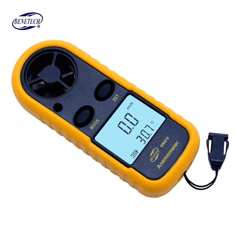 Digital Anemometer Wind Speed Gauge Meter 30m/s (65MPH)-Kayak Shops