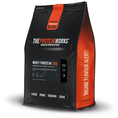 The Protein Works Whey Protein(360) 1.2kg  Strawberries n Cream