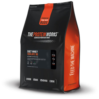 The Protein Works Diet Whey Isolate 90(Con) 1kg Choclate Silk