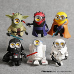 Action Figures - Minions em Star Wars