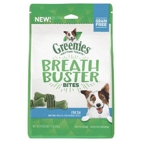 GREENIES Dog Fresh Breath Buster Bites 156g - Humble Pet Products