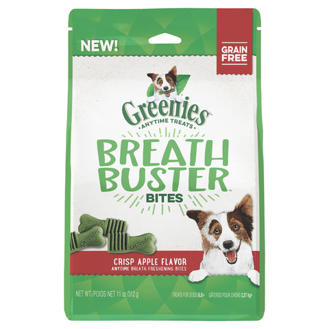 GREENIES Dog Apple Breath Buster Bites 156g - Humble Pet Products