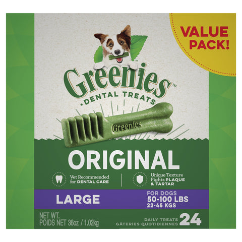 GREENIES Dog Original Value Pack Large 1kg - Humble Pet Products