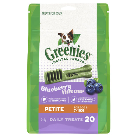 GREENIES BLUEBERRY PETITE 340G - Humble Pet Products