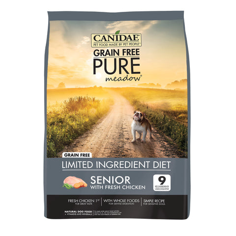 CANIDAE Dog Grain Free Pure MEADOW Senior - Humble Pet Products