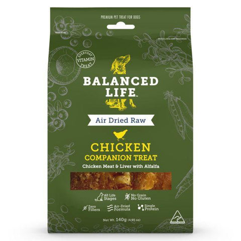 Balanced Life Companion Treat Chicken Dog 140g - Humble Pet Products