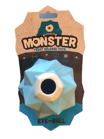 AUSSIE DOG MONSTER TREAT TOY BLUE - Humble Pet Products