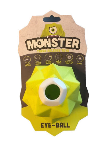 AUSSIE DOG MONSTER TREAT TOY GREEN - Humble Pet Products