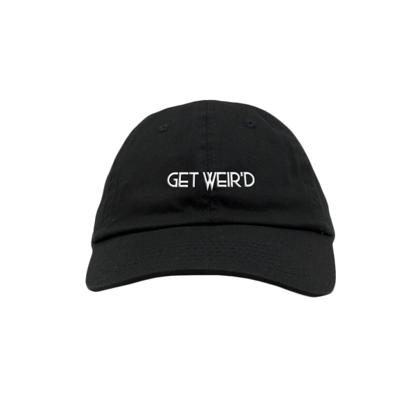 GET WEIR'D BLACK DAD HAT
