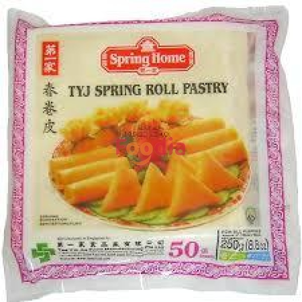 Tyj Os Spring Roll Skin Pastry 5  50#pk* 250 Gr Tepung