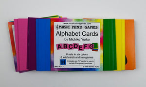 Music Mind Games Alphabet Cards
