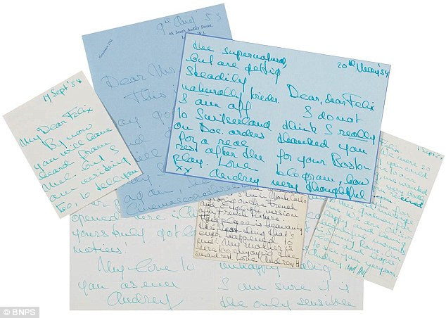 Audrey Hepburn – Letters for Auction