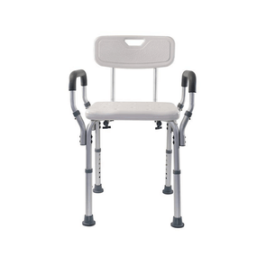 Essential Medical Supply Shower Benches with Padded Arms - Senior.com Bath Benches & Seats