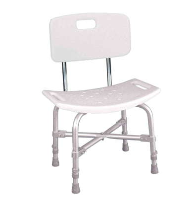 Drive Medical Bariatric Heavy Duty Bath Bench with Backrest - Senior.com Bath Benches & Seats