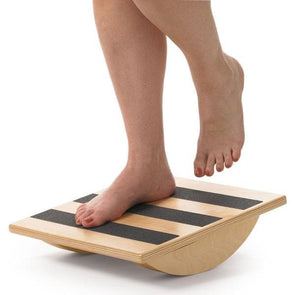 OPTP Wooden Uniplane Rocker - Great For Ankle Exercsing & Strengthening - Senior.com Physical Therapy