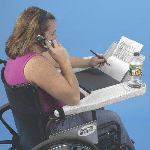 Ableware Lap Top Wheelchair Desk - Fits Most Wheelchairs - Senior.com Wheelchair Parts & Accessories